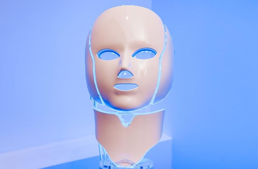 Luminothérapie par masque Led